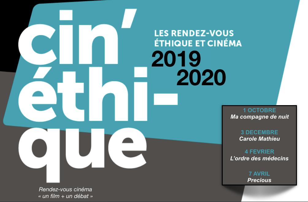 Affiche Cinéthique 2019-20